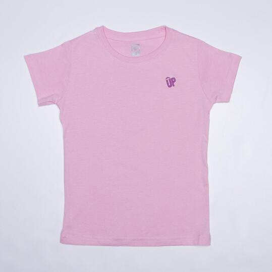 Camiseta Rosa UP BASIC Niña (2-8)