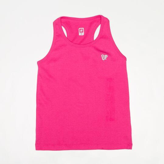 Camiseta Tirantes UP BASIC Fucsia Niña (2-8)