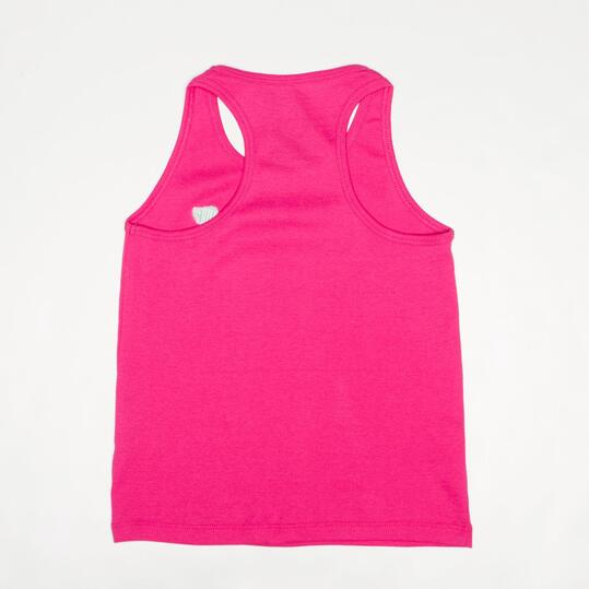 Camiseta Tirantes UP BASIC Fucsia Niña (2-8)