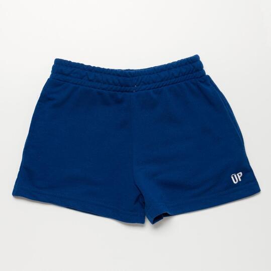 Pantalón Corto UP BASIC Azul Marino Niña (2-8)