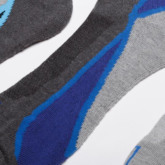 FILA Calcetines Tobilleros Azul Hombre