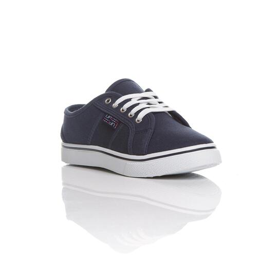 Zapatillas Lona UP SLIP Marino Niño