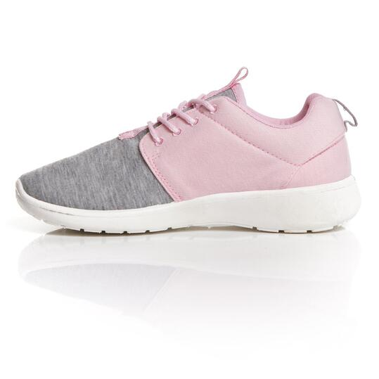Sneakers Gris Rosa UP Mujer