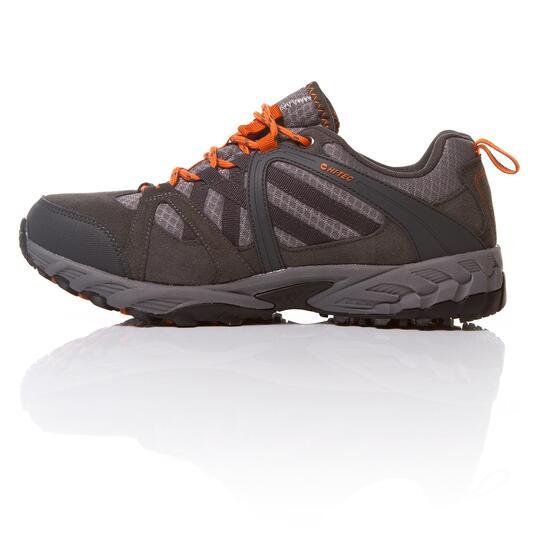 HI TEC ACCELERATE Zapatillas Montaña Gris Naranja Hombre