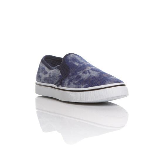 Zapatillas Lona UP SLIP ON Azul Vaquero Mujer