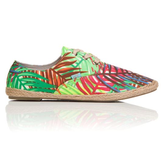 Alpargatas Estampado Tropical UP Mujer