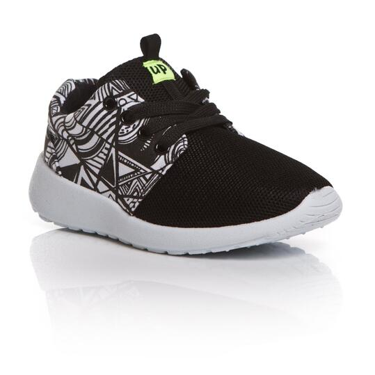 UP Sneakers Estampadas Negro Niño (28-35)