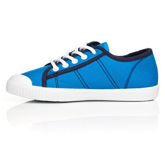 Zapatillas Lona UP TOECUP Azul Niño (28-35)