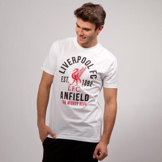 Camiseta Liverpool SOURCE LAB Blanco Negro Hombre