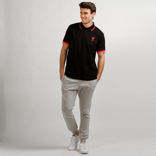 Polo Liverpool SOURCE LAB Marino Hombre