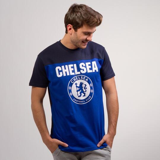 Camiseta Chelsea SOURCE LAB Azul Marino Hombre