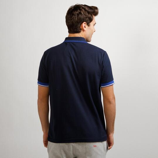 Polo Chelsea SOURCE LAB Marino Hombre