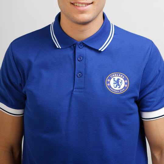 Polo Chelsea SOURCE LAB Azul Hombre