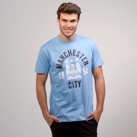 Camiseta Manchester SOURCE LAB Celeste Marino Hombre