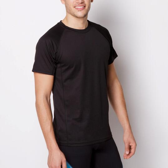 ROLY Montecarlo Camiseta Fútbol Negro Hombre