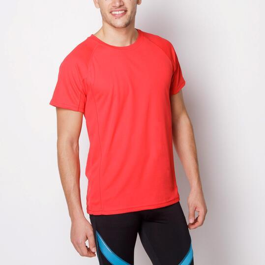 ROLY Montecarlo Camiseta Fútbol Rojo Hombre