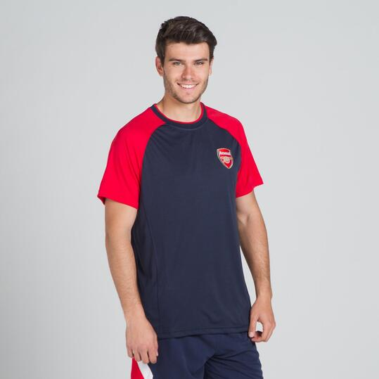 Camiseta Arsenal SOURCE LAB Marino Rojo Hombre