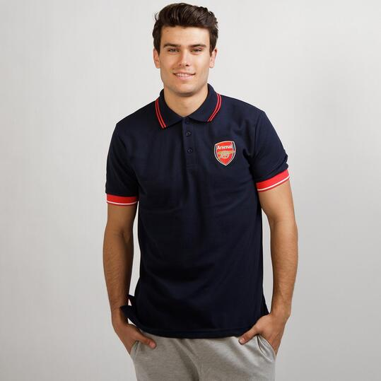 Polo Arsenal SOURCE LAB Marino Hombre