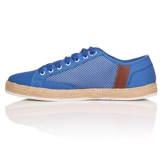 Zapatillas Lona SILVER MESH Azul Hombre