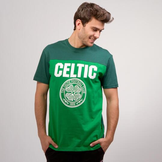 Camiseta Celtic SOURCE LAB Verde Hombre