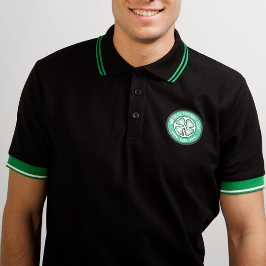 Polo Celtic SOURCE LAB Negro Hombre