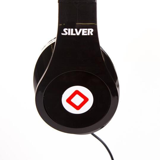 Auriculares SILVER PRO BASS Negro