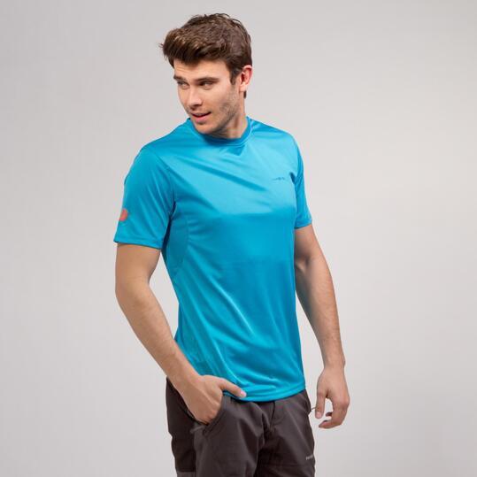 Camiseta Básica BORIKEN Azul Hombre