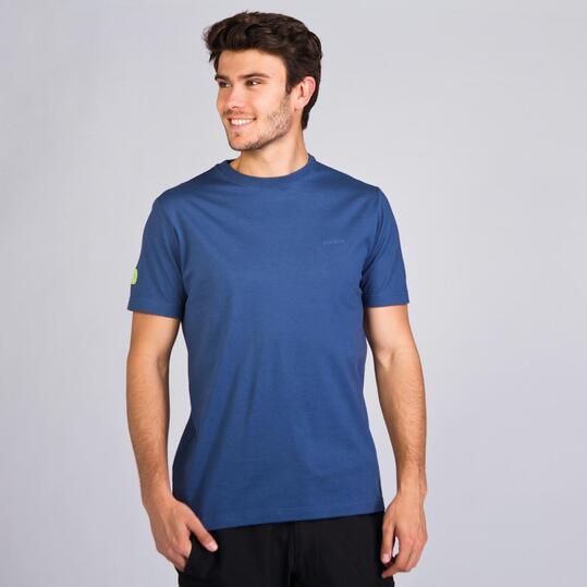 Camiseta Montaña BORIKEN BASIC Denim Hombre