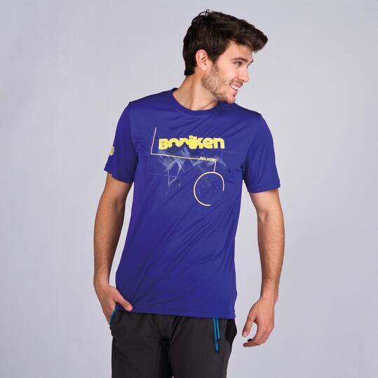 Camiseta Montaña BORIKEN Azul Hombre