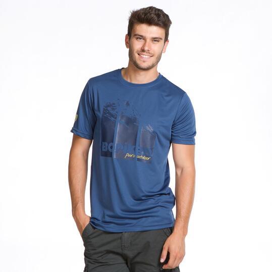 Camiseta Manga Corta BORIKEN Denim Hombre