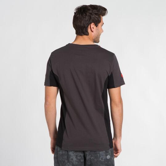 Camiseta Montaña BORIKEN Gris Negro Hombre