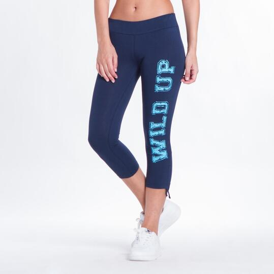 Leggins Pirata UP BASIC Marino Mujer