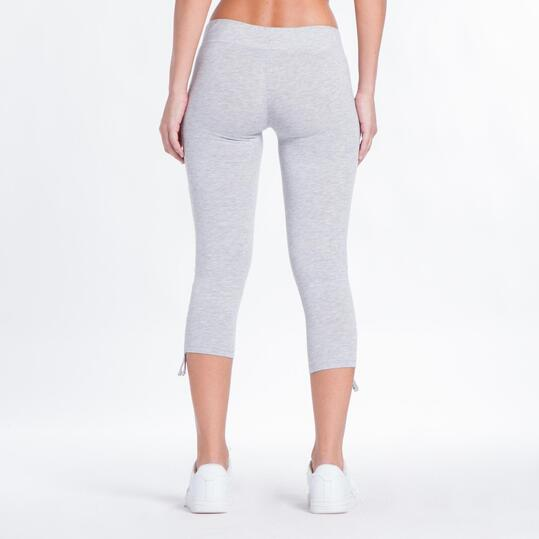 Leggins Pirata UP BASIC Gris Mujer