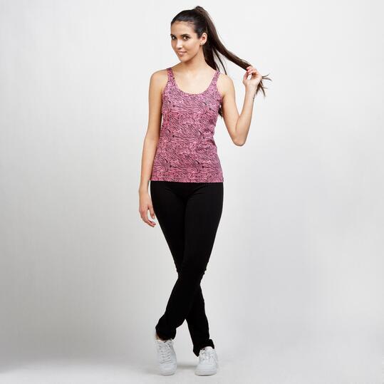 Camiseta Tirantes UP BASIC Rosa Mujer