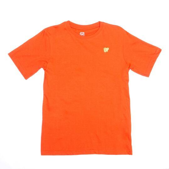 Camiseta Roja UP BASIC Niño (10-16)
