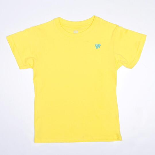 Camiseta Amarilla UP BASIC Niño (2-8)