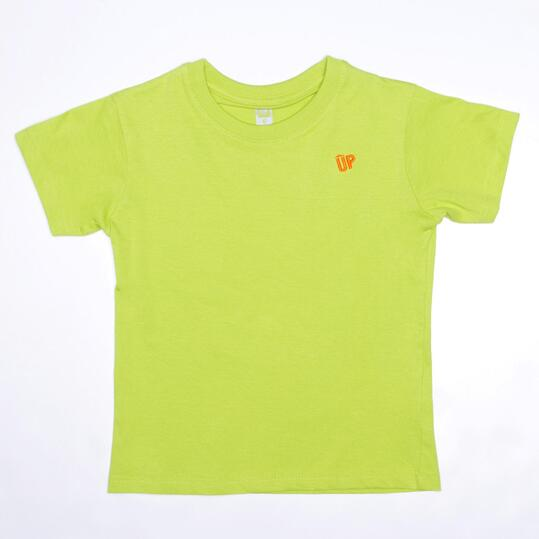 Camiseta Pistacho UP BASIC Niño (2-8)