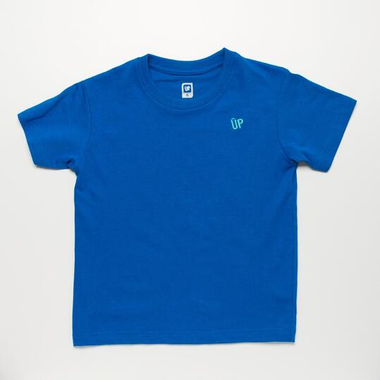 Camiseta Azul UP BASIC Niño (2-8)