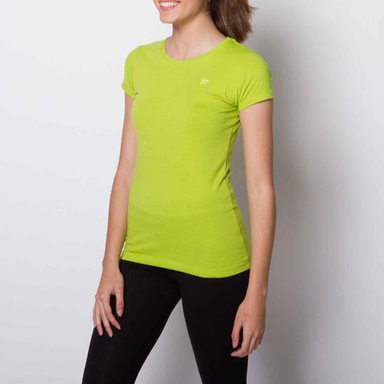 Camiseta Casual UP BASIC Pistacho Mujer