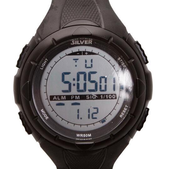 Reloj Sport SILVER RAID Negro