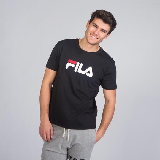 FILA EAGLE Camiseta Negra Hombre