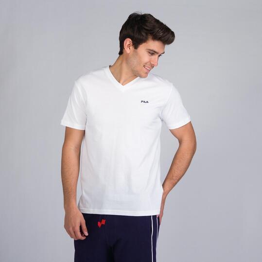 FILA COVE Camiseta Blanca Hombre