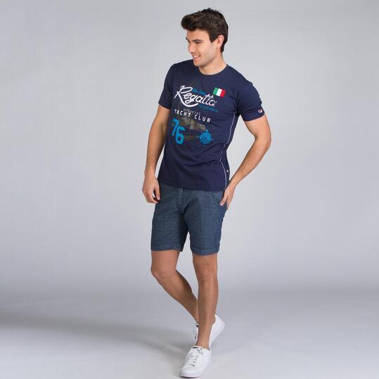 FILA SKIPPER Camiseta Marino Hombre