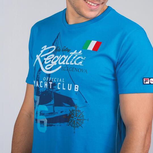 FILA SKIPPER Camiseta Azul Hombre