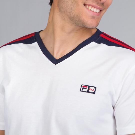 FILA DELIVE Camiseta Blanca Hombre