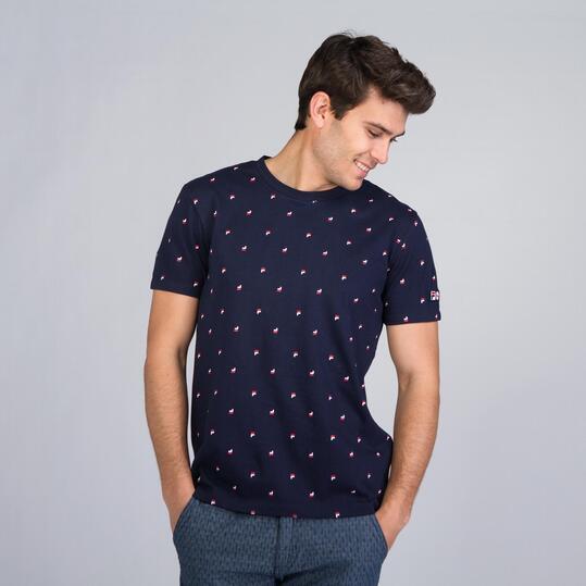 FILA BUFEE Camiseta Marino Hombre