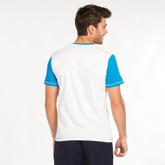 FILA Camiseta Blanca Hombre