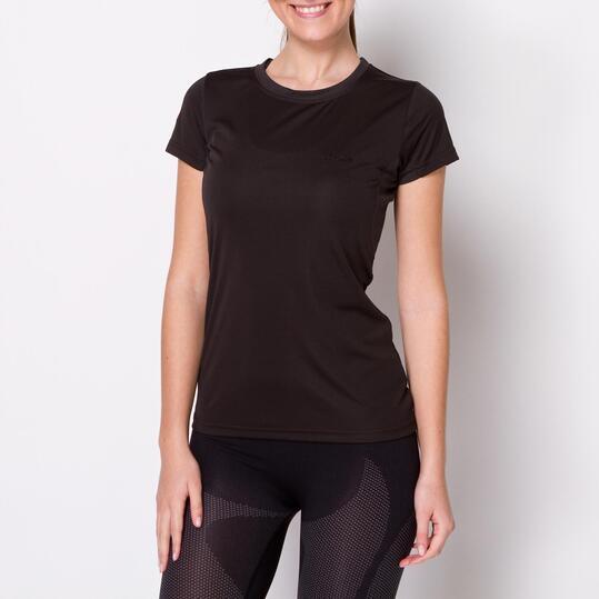 Camiseta Montaña BORIKEN Antracita Mujer
