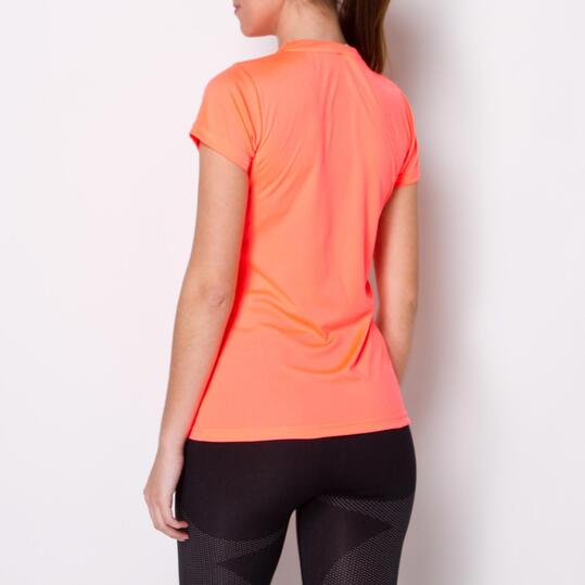 Camiseta Montaña BORIKEN Coral Mujer