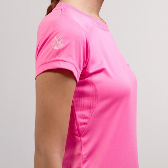 Camiseta Básica BORIKEN Fucsia Mujer